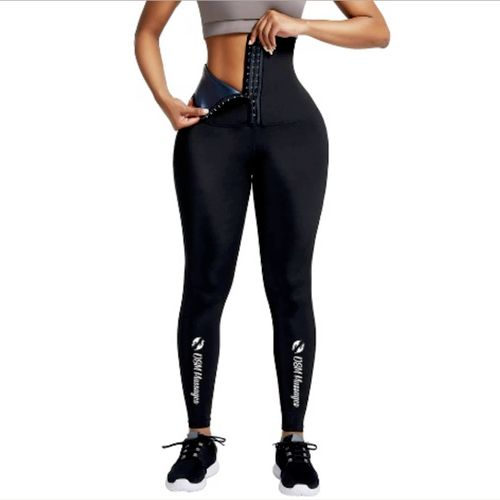 Sauna Fat burning yoga leggings pants for females helps burn fat faster