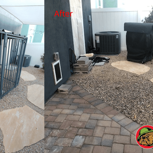 Dog cage demo / Before and After