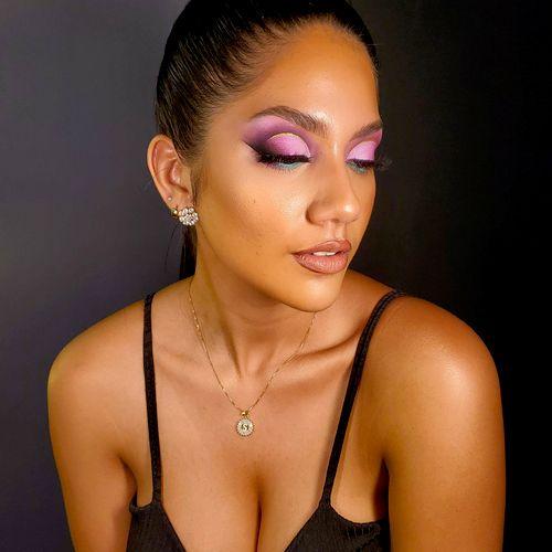 Glam makeup iG @wondrouslookmakeup