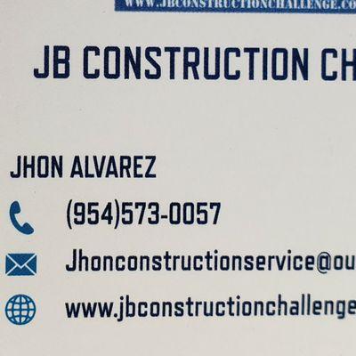 Avatar for Jb Construction Challenge
