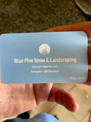Avatar for Blue pine snow & landscaping
