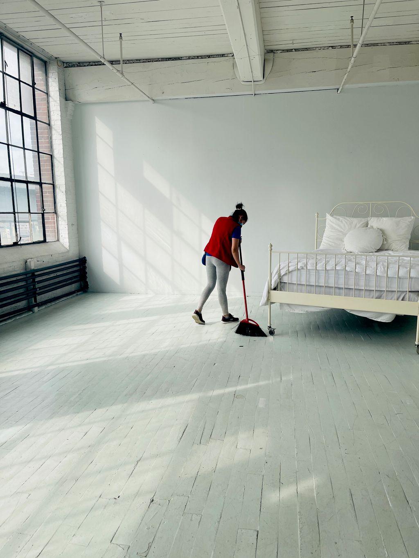 White room photo studio The Bemis building
