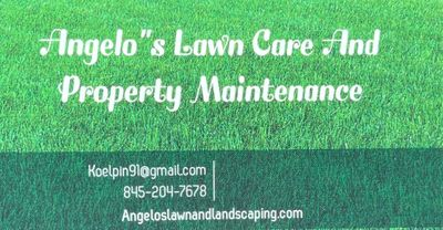 Avatar for Angelo's lawn and landscaping.