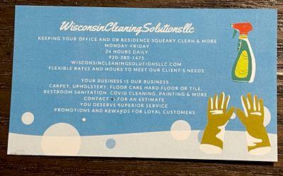 Avatar for WisconsinCleaningSolutionsllc