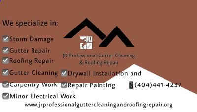 Avatar for JR Professional Gutter Cleaning & Roofing Repair