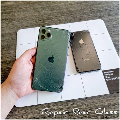 iRepair Back Glass starting at $80 depending on Model.