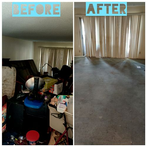 Residential clean out at Culver City!