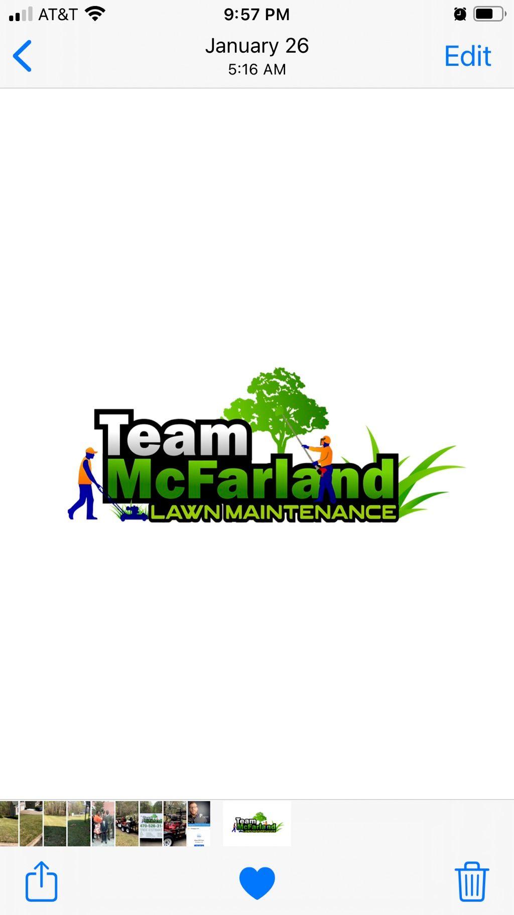 Team McFarland Lawn Maintenance