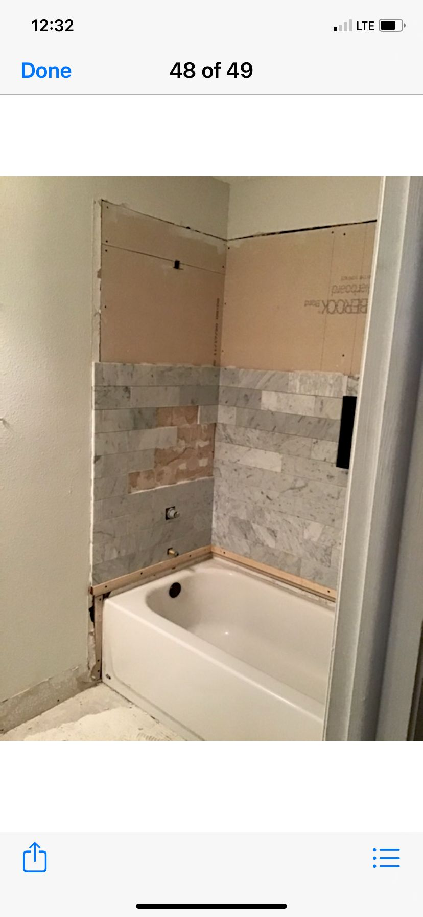 Fixing another contractors unfinished work