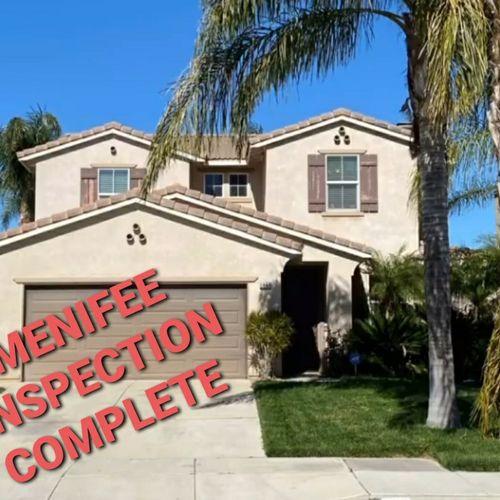 Residential Inspection 4br/3ba