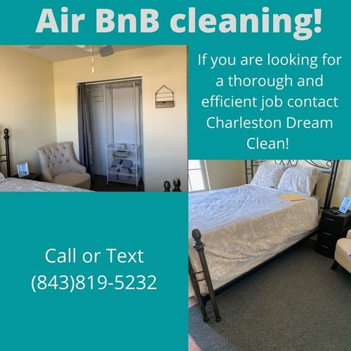 Contact Charleston Dream Clean for your Airbnb Cleaning if you are looking for a thorough and efficient job.