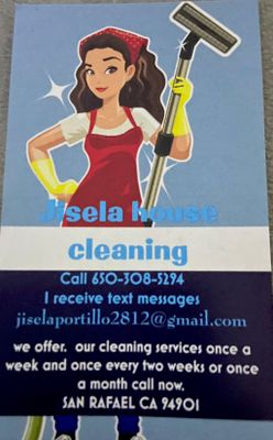 Avatar for Jisela House cleaning