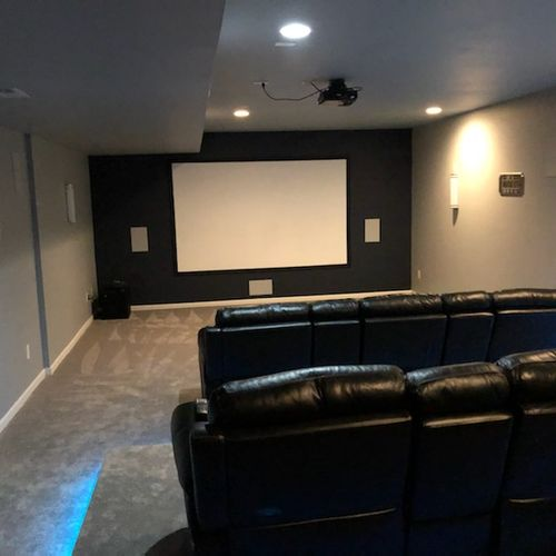 Custome Projection Screen build