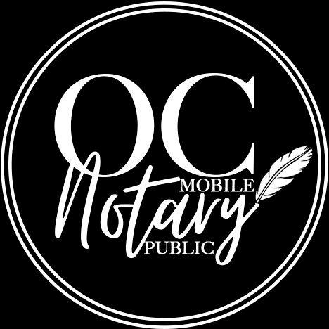 Orange County Mobile Notary Public