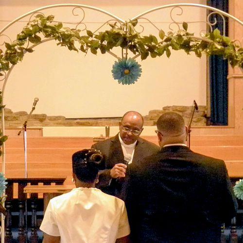 Wedding at Citadel of Faith Church