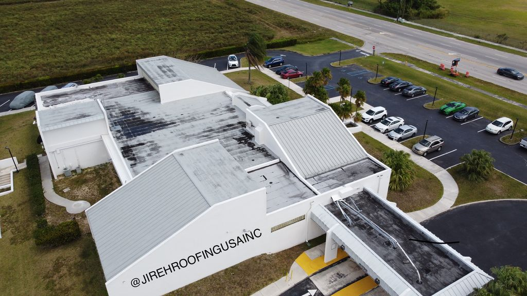 COMMERCIAL RE-ROOF BUR ROOF SYSTEM