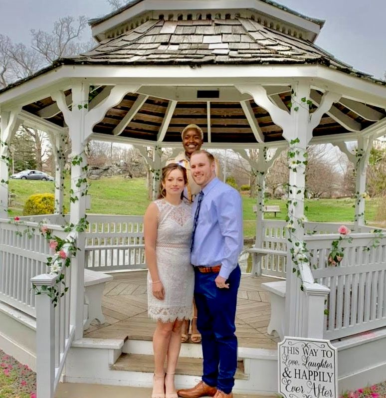Spring Wedding in the Park