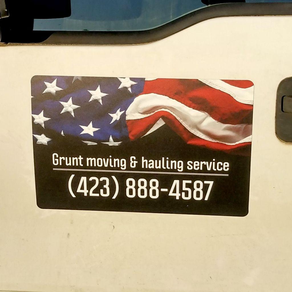 Grunt Moving & Hauling Service