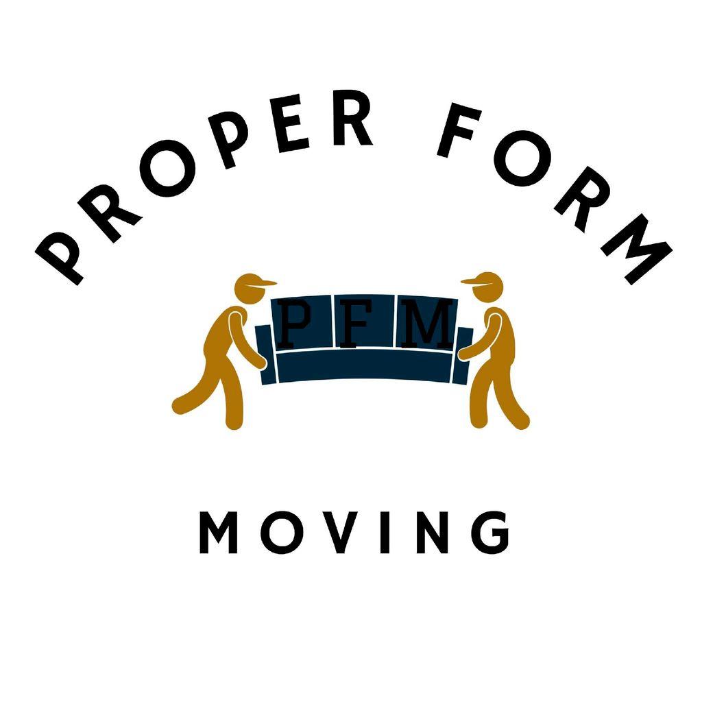Proper Form Moving LLC