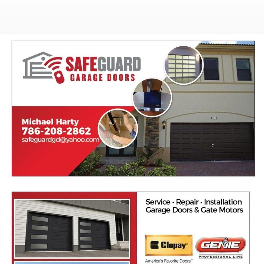 Safeguard garage doors