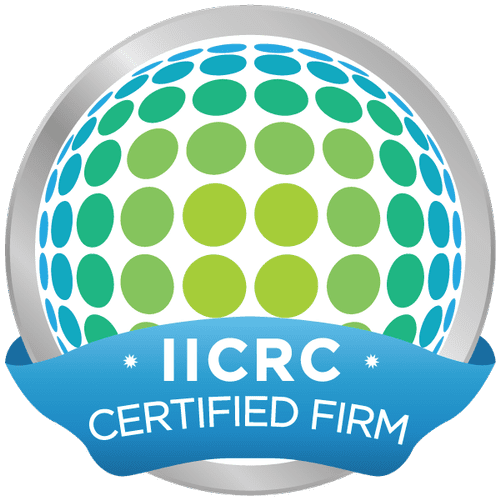 We are an IICRC Certified Firm. The Highest Standard in Carpet Cleaning.
