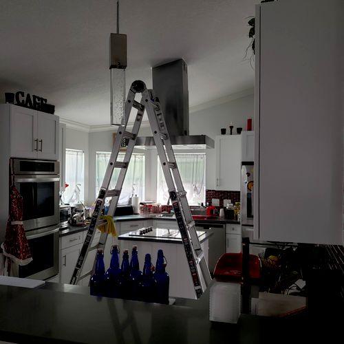 Kitchen exhaust hood.