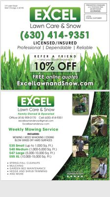 Avatar for Excel Lawn Care