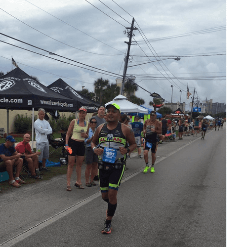 Completing the Run portion of Ironman. If you believe you can achieve!!
