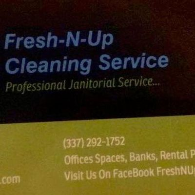 Avatar for Fresh-N-Up Cleaning Service LLC