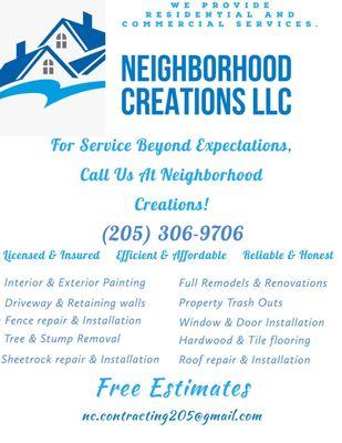 Avatar for Neighborhood Creations, llc