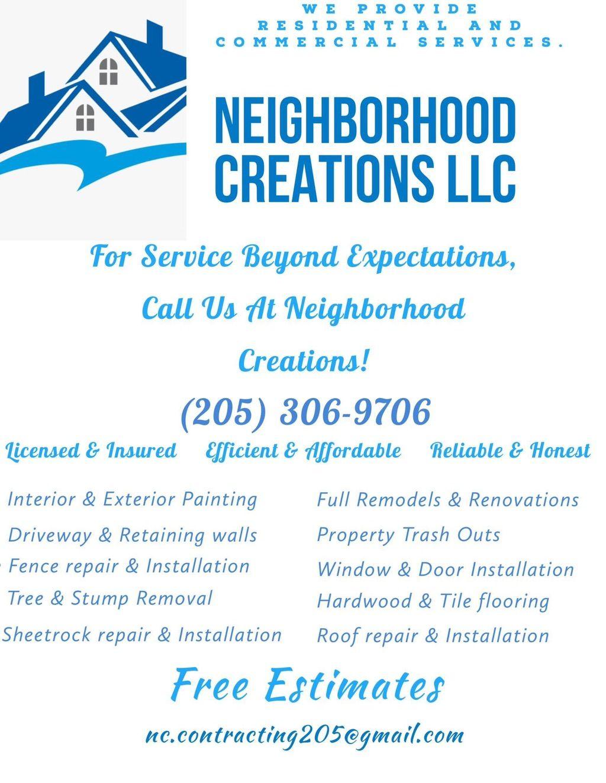 Neighborhood Creations, llc