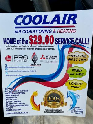 Avatar for Coolair Air Conditioning and Heating
