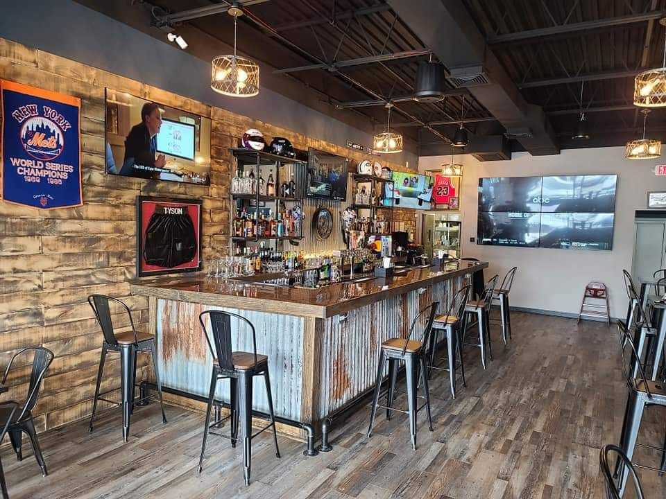 Sports bar installation of TVs, Sound System, POS & Security