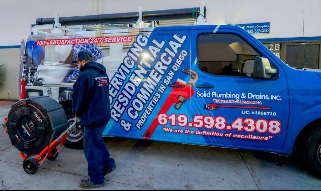Solid plumbing & drains inc