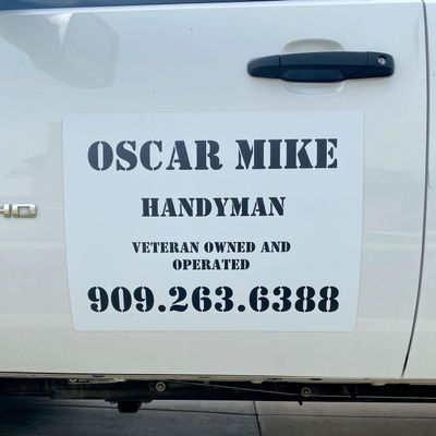 Avatar for Oscar Mike Handyman Veteran owned & operated