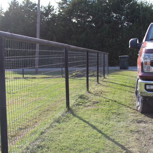 Rural Steel Fences