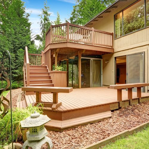 Deck addition & Outback Exterior Renovations