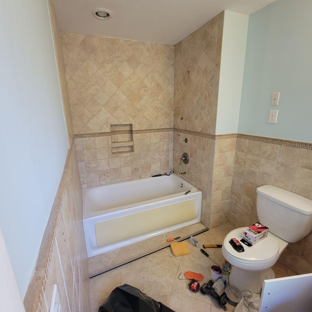 Nanuet bathroom remodel