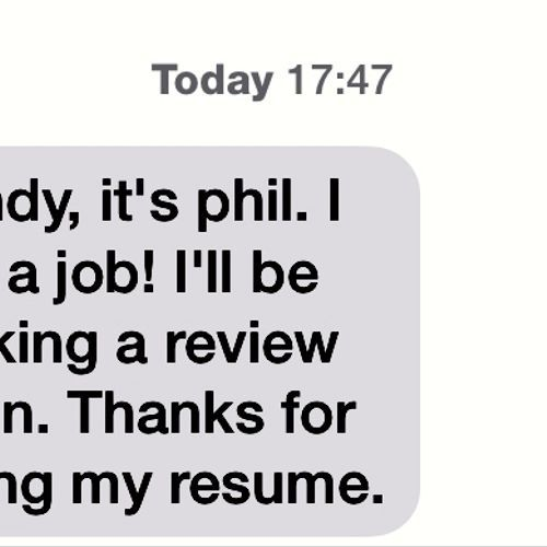 Resumes in a FLASH