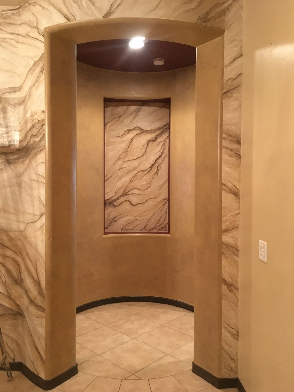 Marble indoor project