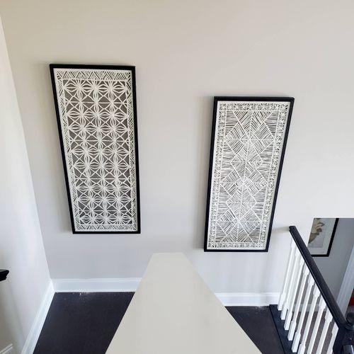 XL Fine artwork mounted