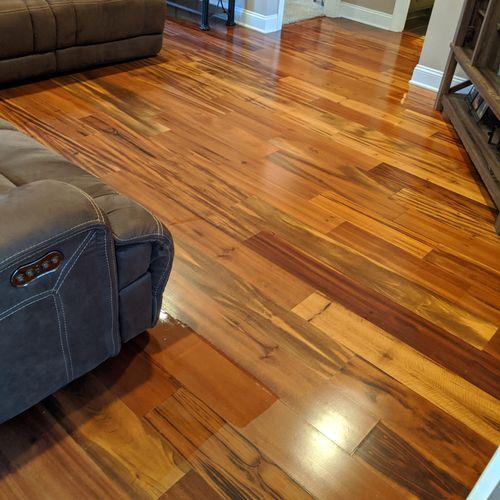 Hardwood clean