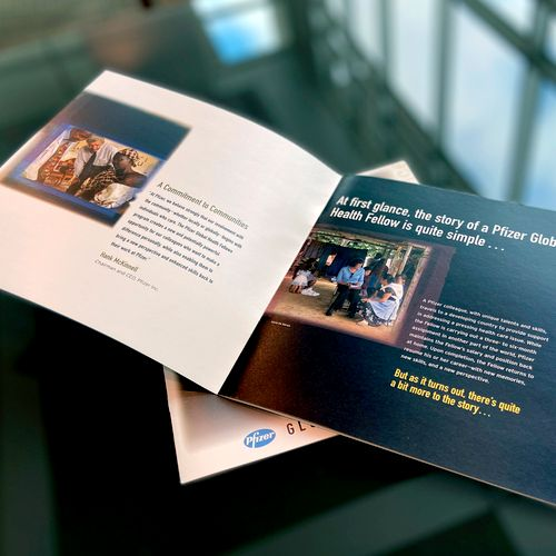 Pfizer Global Health Fellows Brochure
