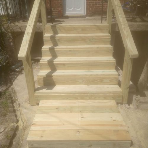 steps we built 😁👍