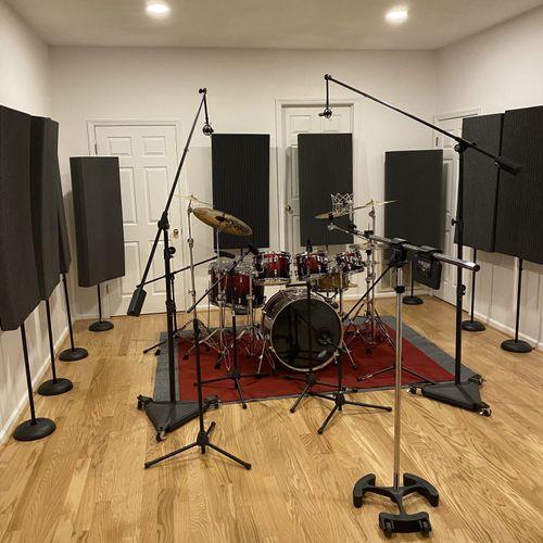 Drum Room/Live Room