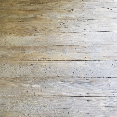 Deck Condition before detailed pressure wash and stain
