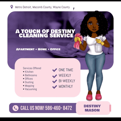Avatar for A Touch Of Destiny Cleaning Service