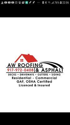Avatar for AW Roofing & Asphalt