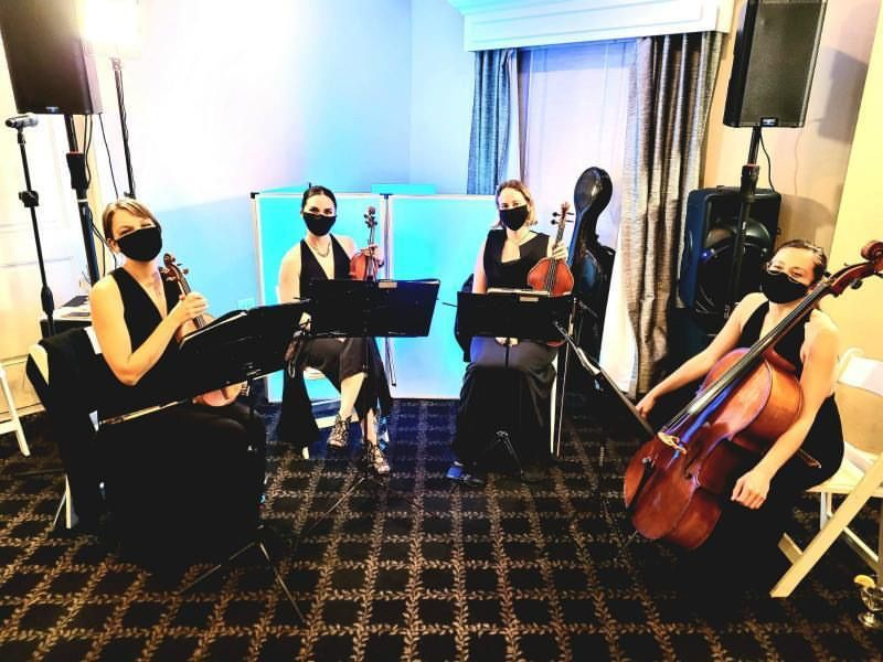 String Quartet for Wedding Reception