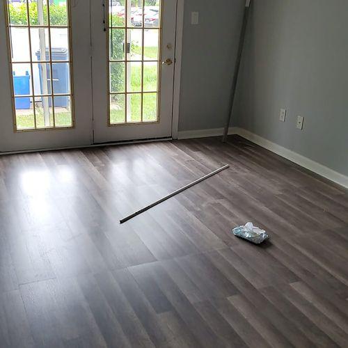 Floors installation